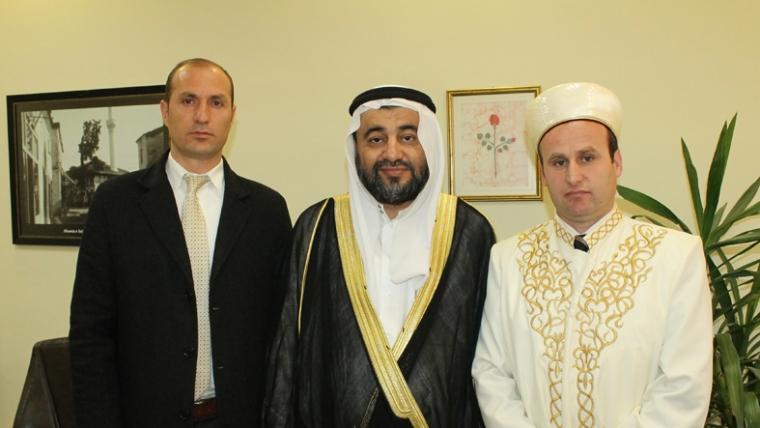 Nënkryetari Bujar Spahiu takon këshilltarin e ministrit për çështjet e fesë të Arabisë Saudite