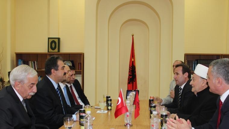 Kreu i Kontrollit të Lartë të Shtetit turk dhe homologu i tij shqiptar, vizitë në KMSH