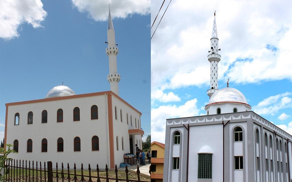 Inaugurohen dy xhami të reja në Tiranë e Durrës