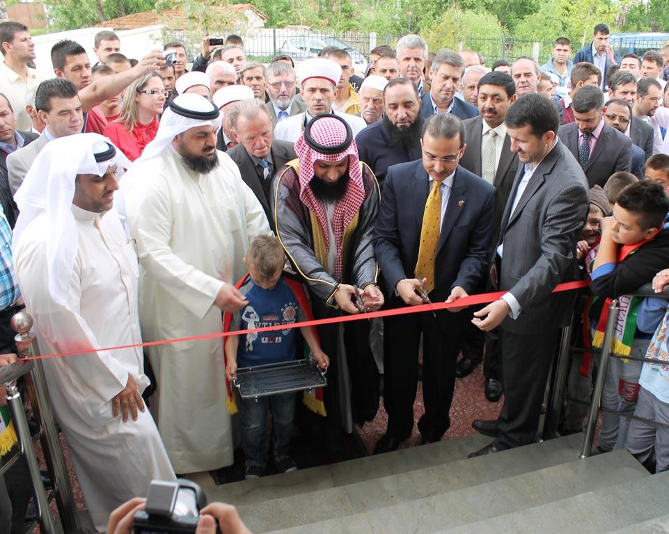 Korçë, xhami e re dhe qendër shëndetësore në fshatin Qatrom