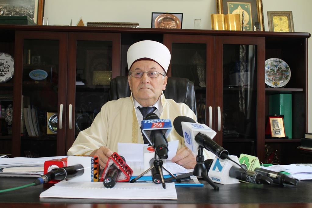 Kryetari Haxhi Selim Muça uron myslimanët për fillimin e Ramazanit