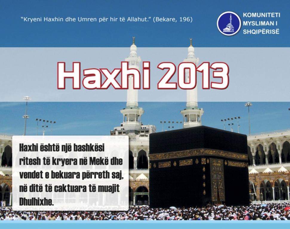 KMSH hap fazën e dytë të regjistrimeve për Haxhin 2013