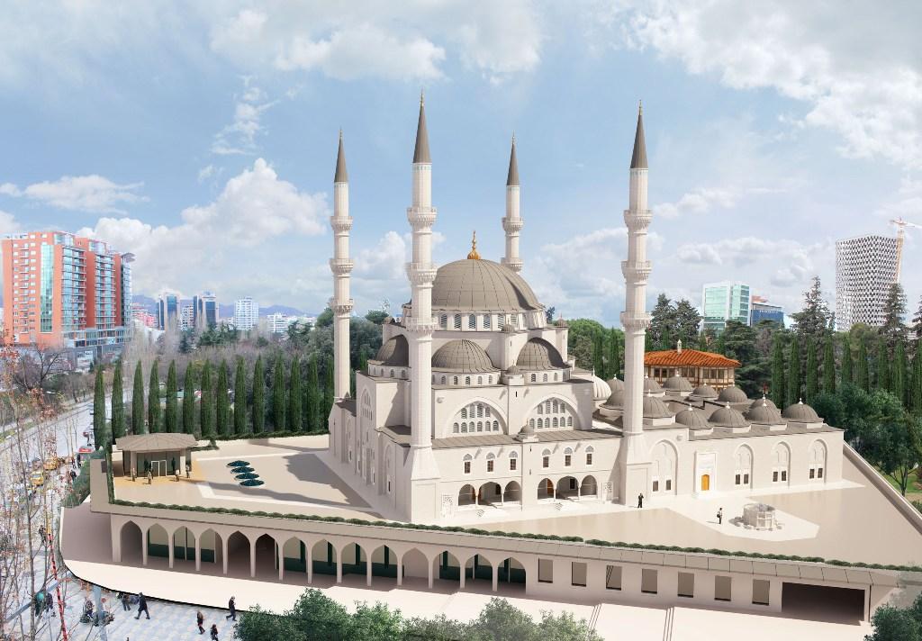KMSH hap fushatën e donacioneve për Xhaminë e Madhe të Tiranës