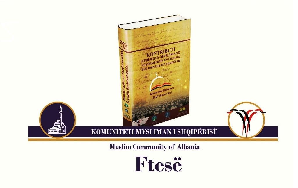 """3 tetor 2013, promovohet libri """"Kontributi i prijësve myslimanë në formësimin e vetëdijes dhe identitetit kombëtar"""""""