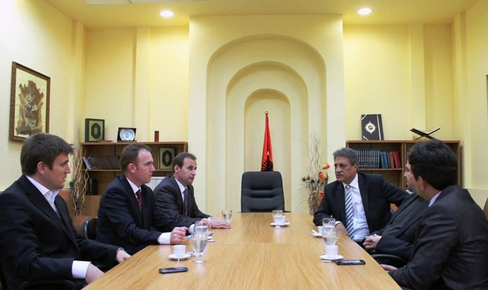Kryetari i Komunitetit Mysliman të Austrisë vizitë në KMSH