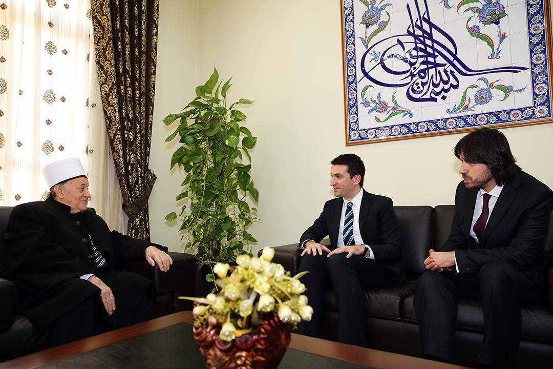 Kryetari i KMSH-së priti në një takim ministrin Erjon Veliaj