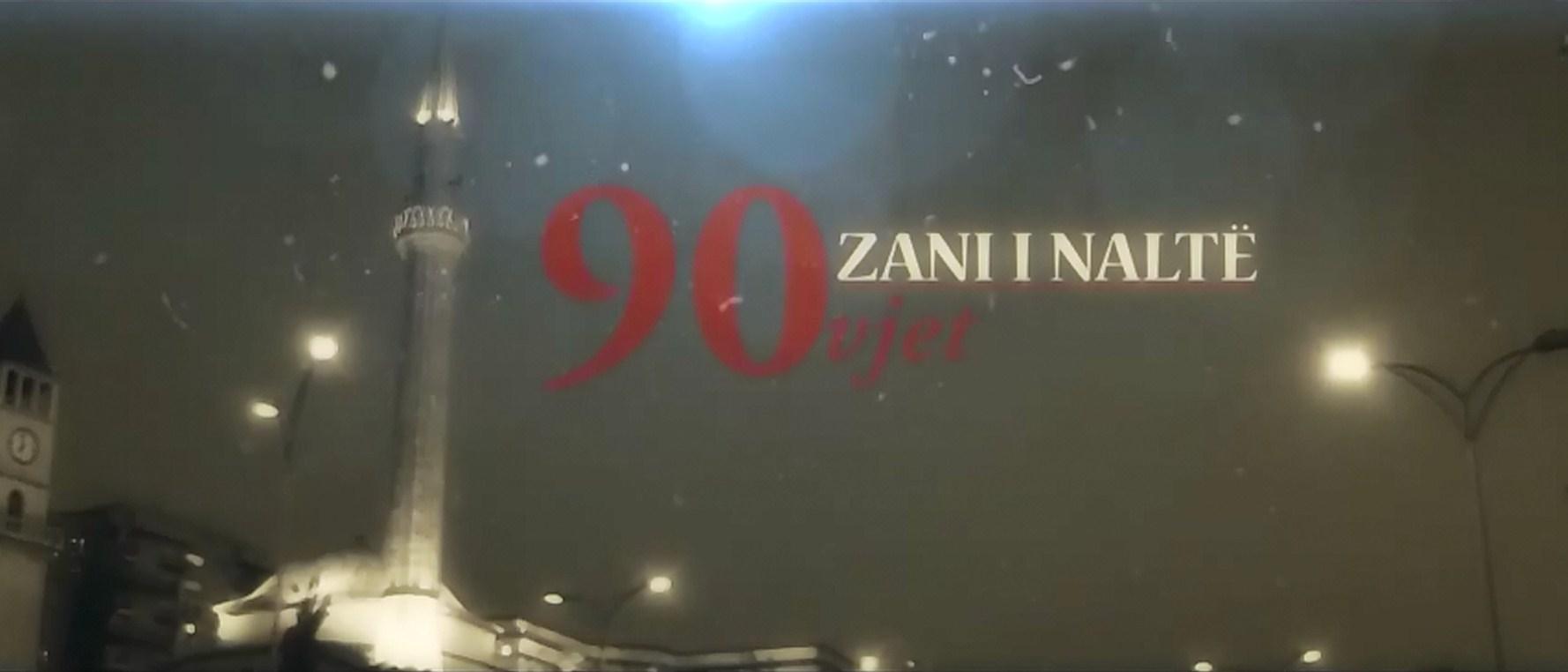 90 vjet Zani i Naltë (Dokumentar)