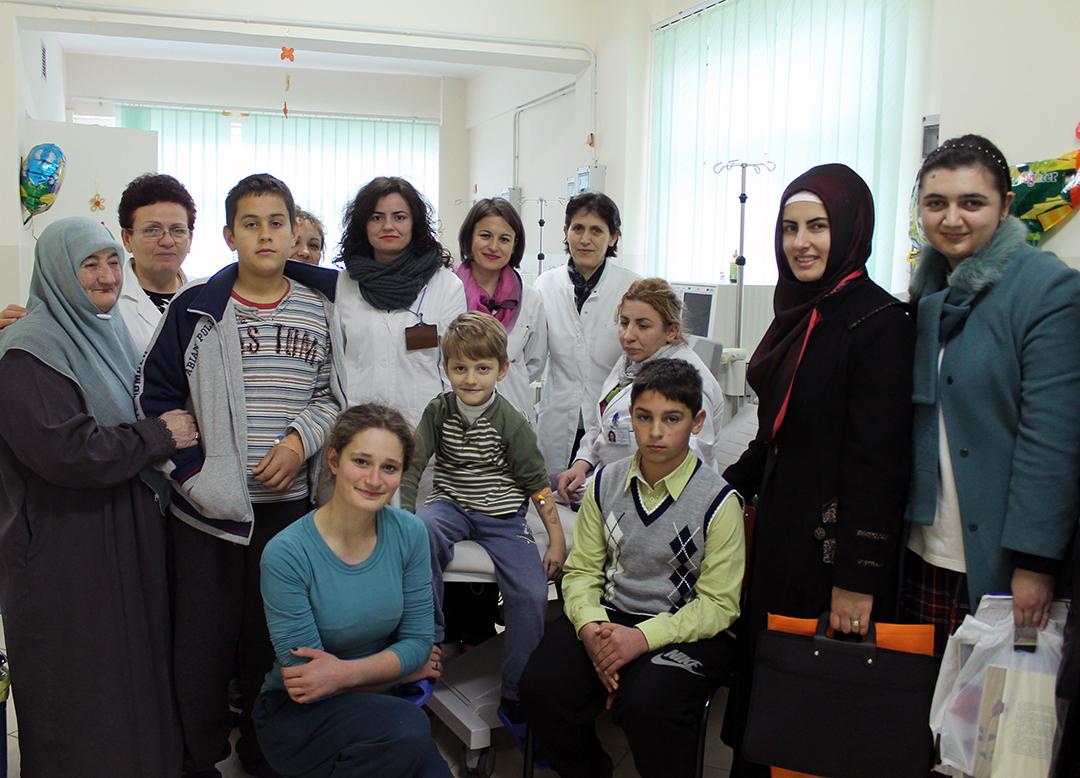 Përfaqësues të Zyrës së Gruas, vizitë në Pediatrinë e Tiranës