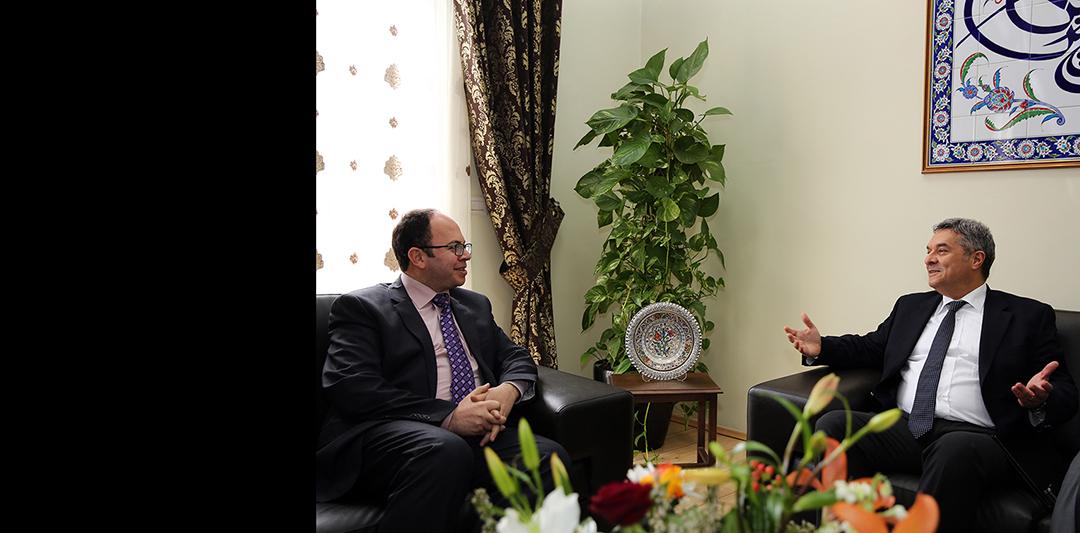 Kryetari i KMSH-së Skender Bruçaj pret ambasadorin turk