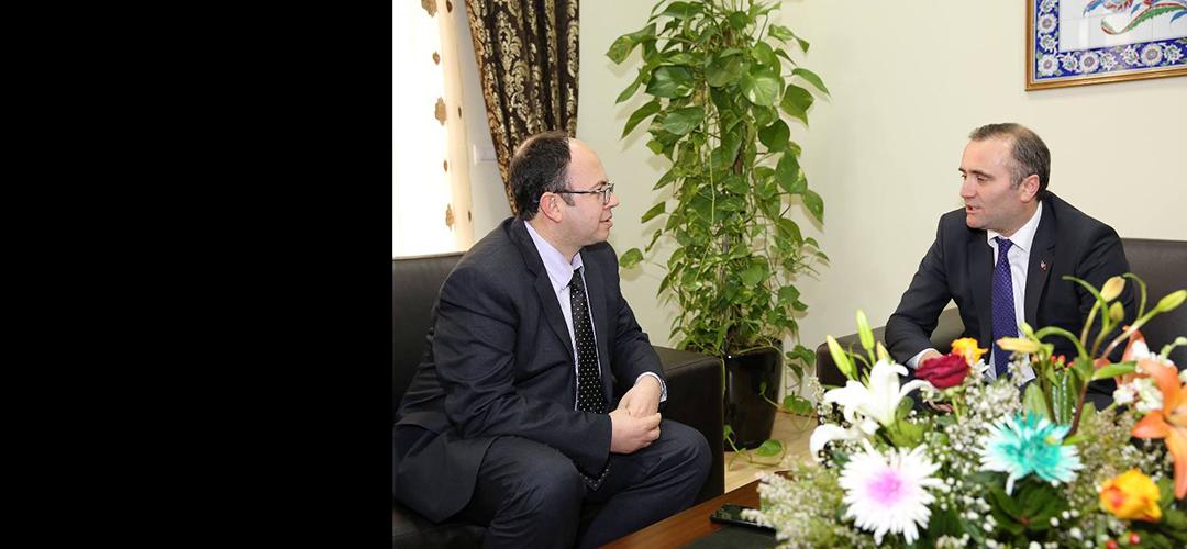Kryetari Bruçaj pret Këshilltarin për Ballkanin të Kryeministrit të Turqisë