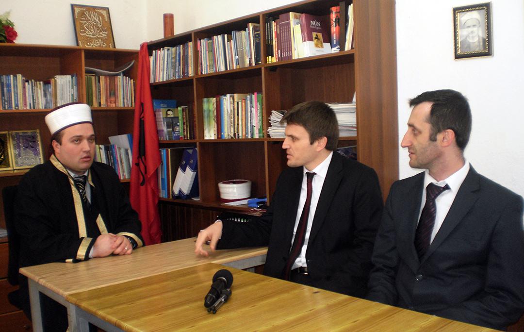 Nënkryetari i KMSH-së z. Gazmend Aga, vizitë pune në Myftininë e Pukës