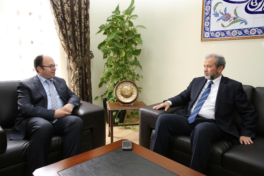 Kryetari Bruçaj pret të ngarkuarin me punë në ambasadën e Libisë