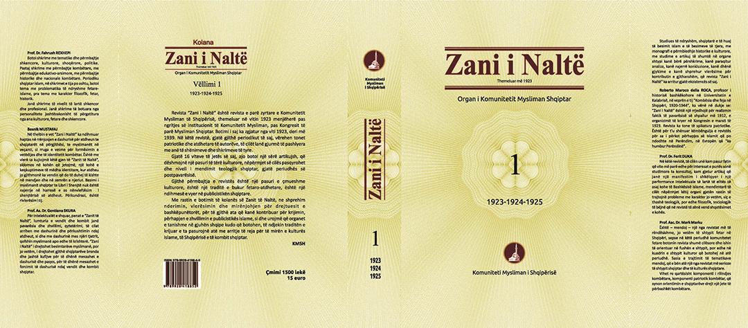 """KMSH boton vëllimin e parë të kolanës """"Zani i Naltë"""""""