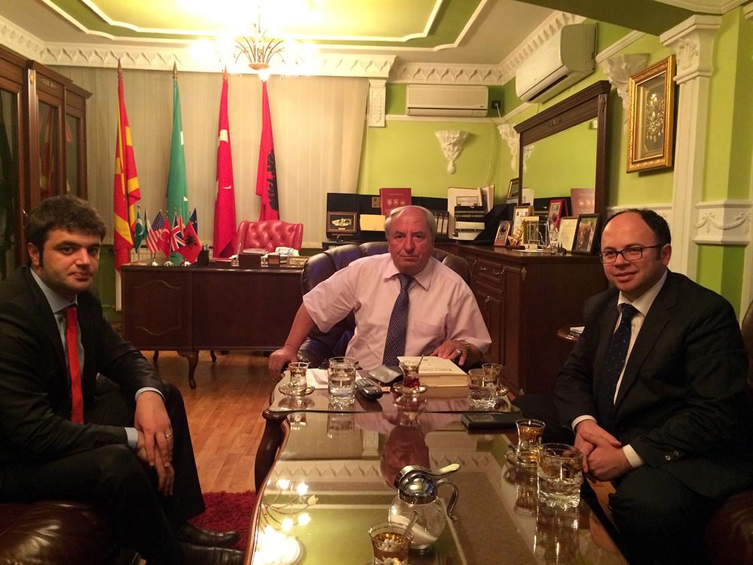 Kryetari Bruçaj viziton Maqedoninë