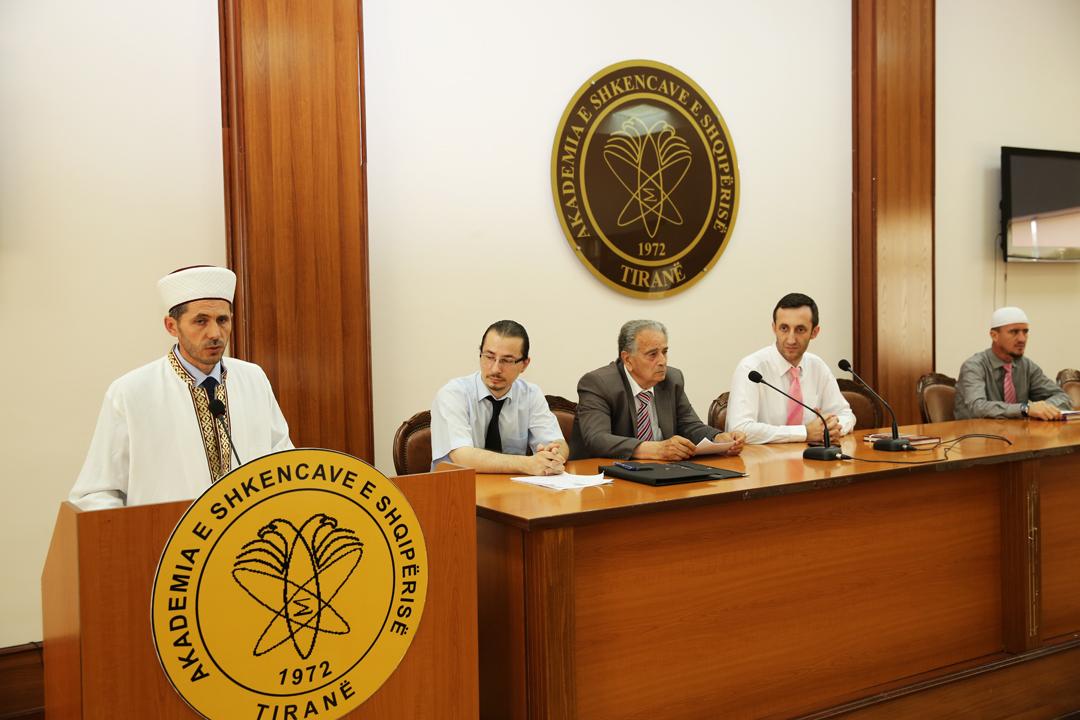 """Promovohet enciklopedia """"Personalitete të kulturës fetare e atdhetare në Tiranë"""""""