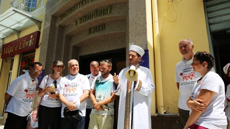 """KMSH mbështet projektin """"Një popull lëviz për paqen, kundër gjakmarrjes"""""""
