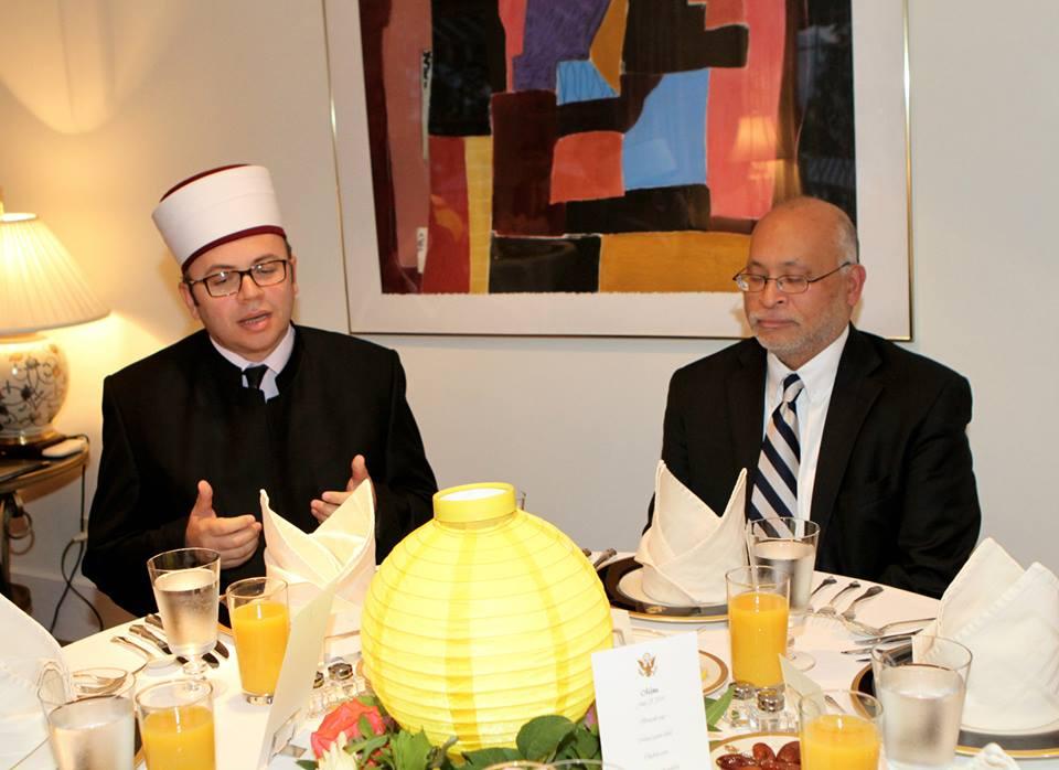 Ambasadori Arvizu shtron iftar