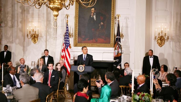 Presidenti Obama shtron iftar
