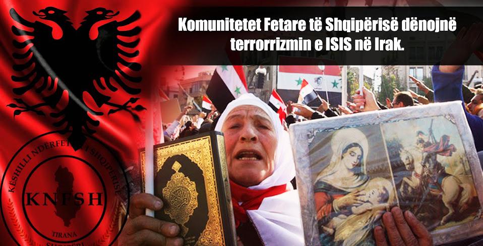 KNFSH dënon dhunën fetare në Lindjen e Mesme dhe Irak