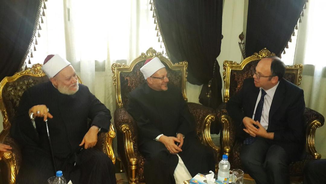 Kryetari Bruçaj takon Kryemyftiun e Egjiptit