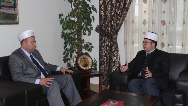 Kryetari Bruçaj pret kreun e Bashkësisë Islame të Malit të Zi