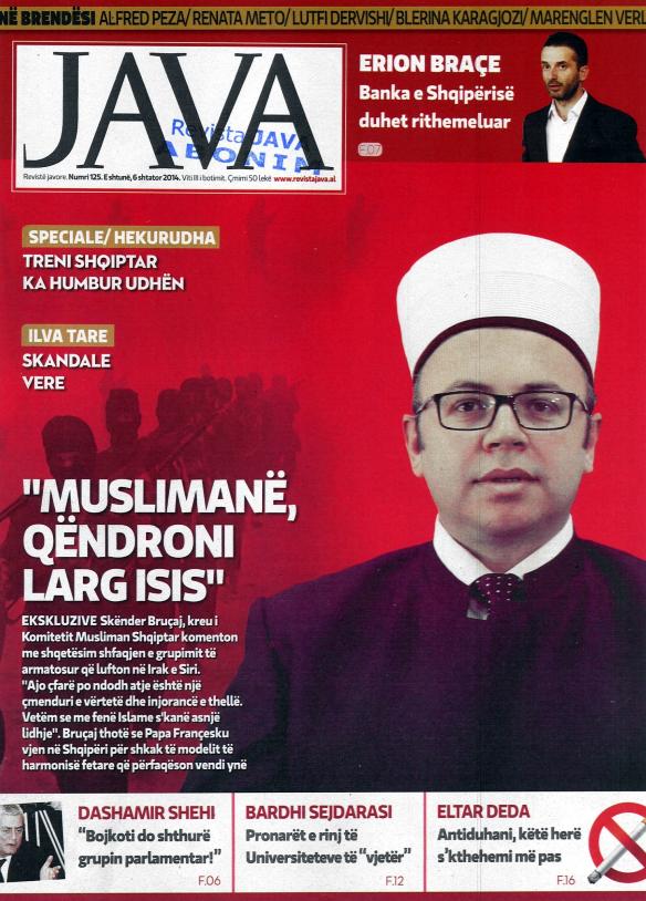 Intervista e kreut të KMSH-së për revistën JAVA