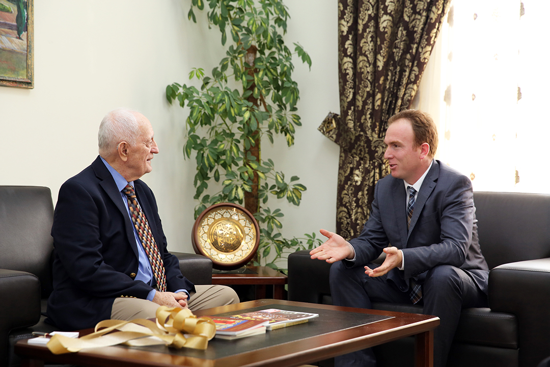 Nënkryetari i KMSH-së Ali Zaimi pret Kryetarin e Vatras
