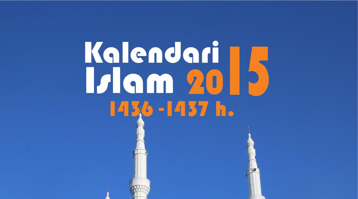 KALENDARI ISLAM 2015