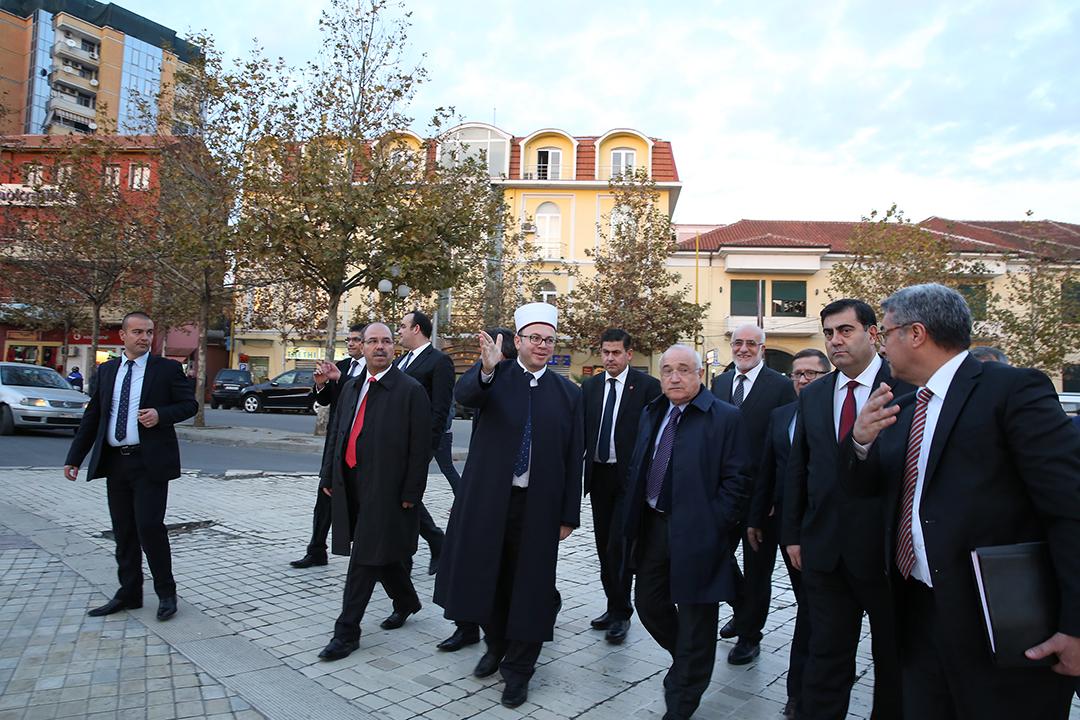 Kryetari Bruçaj takon kryeparlamentarin turk