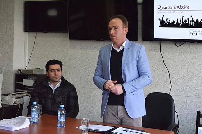 Zhvillohet seminari mbi qytetarinë aktive me të rinjtë e Paskuqanit
