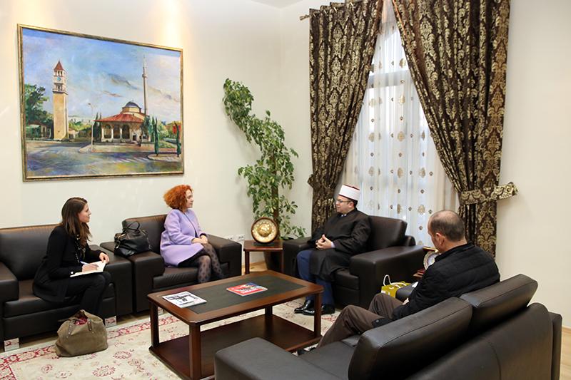 Kryetari Bruçaj pret ambasadoren e Delegacionit Europian në Tiranë
