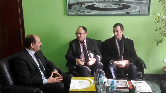 Kryetari Bruçaj, takim me kreun e Arkivit Qendror të Shtetit