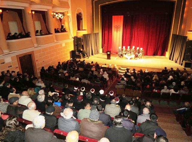 Një natë plot dritë salavati në Shkodër