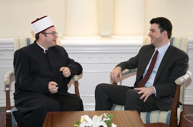 Kryetari i KMSH-së takim me kreun e Bashkisë së Tiranës