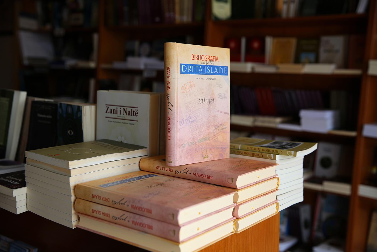 """Botohet bibliografia e 20 viteve të gazetës """"Drita Islame"""""""