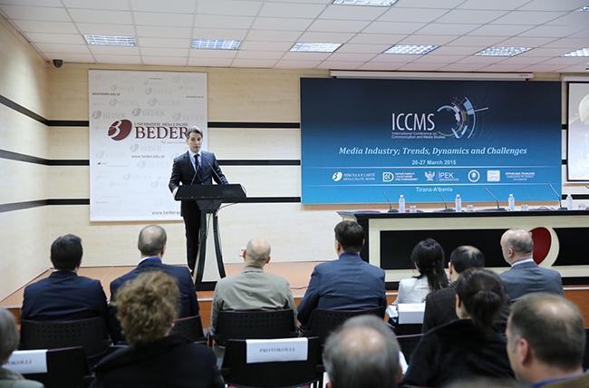 Universiteti Bedër, konferencë ndërkombëtare mbi Studimet në Media dhe Komunikim