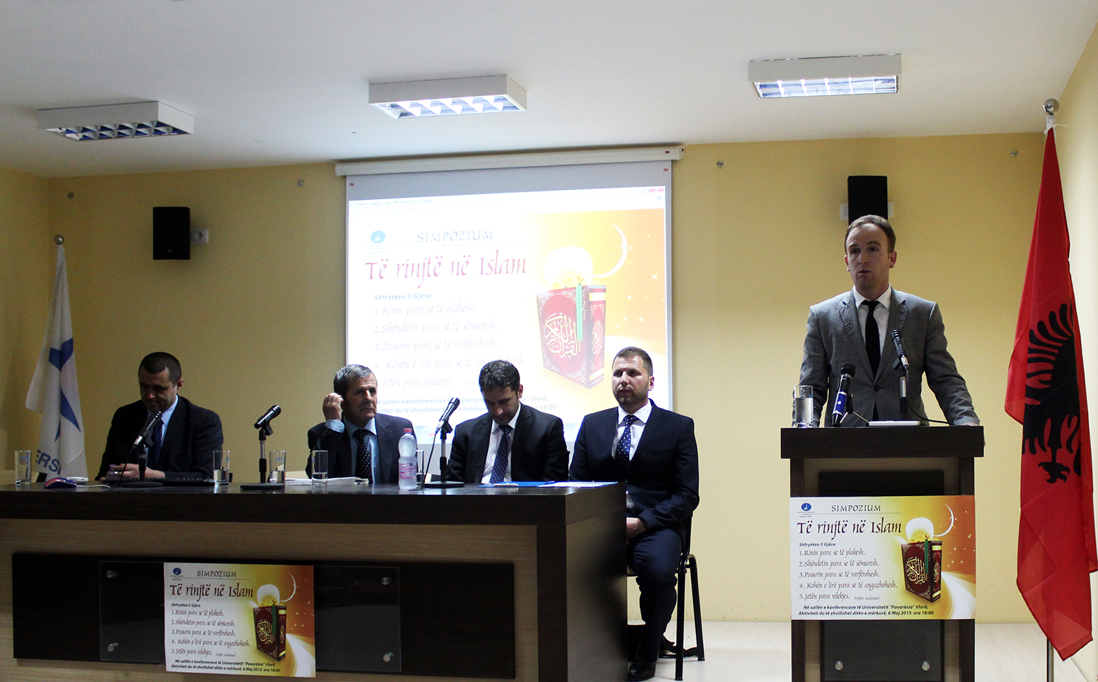 Rinia në Islam, simpozium me të rinjtë e Vlorës