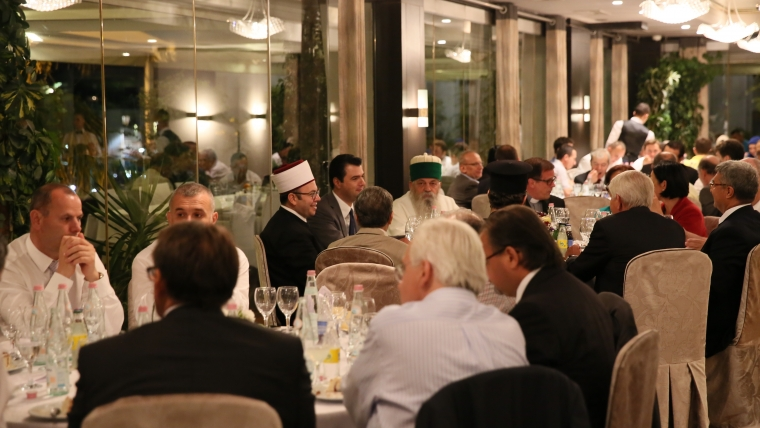 Basha shtron iftar me rastin e Ramazanit
