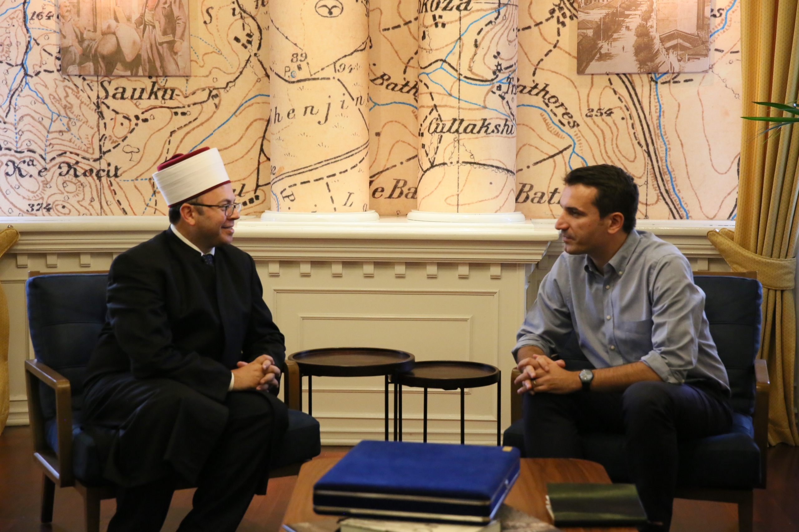 Kreu i KMSH-së vizitë kryebashkiakut të ri të Tiranës