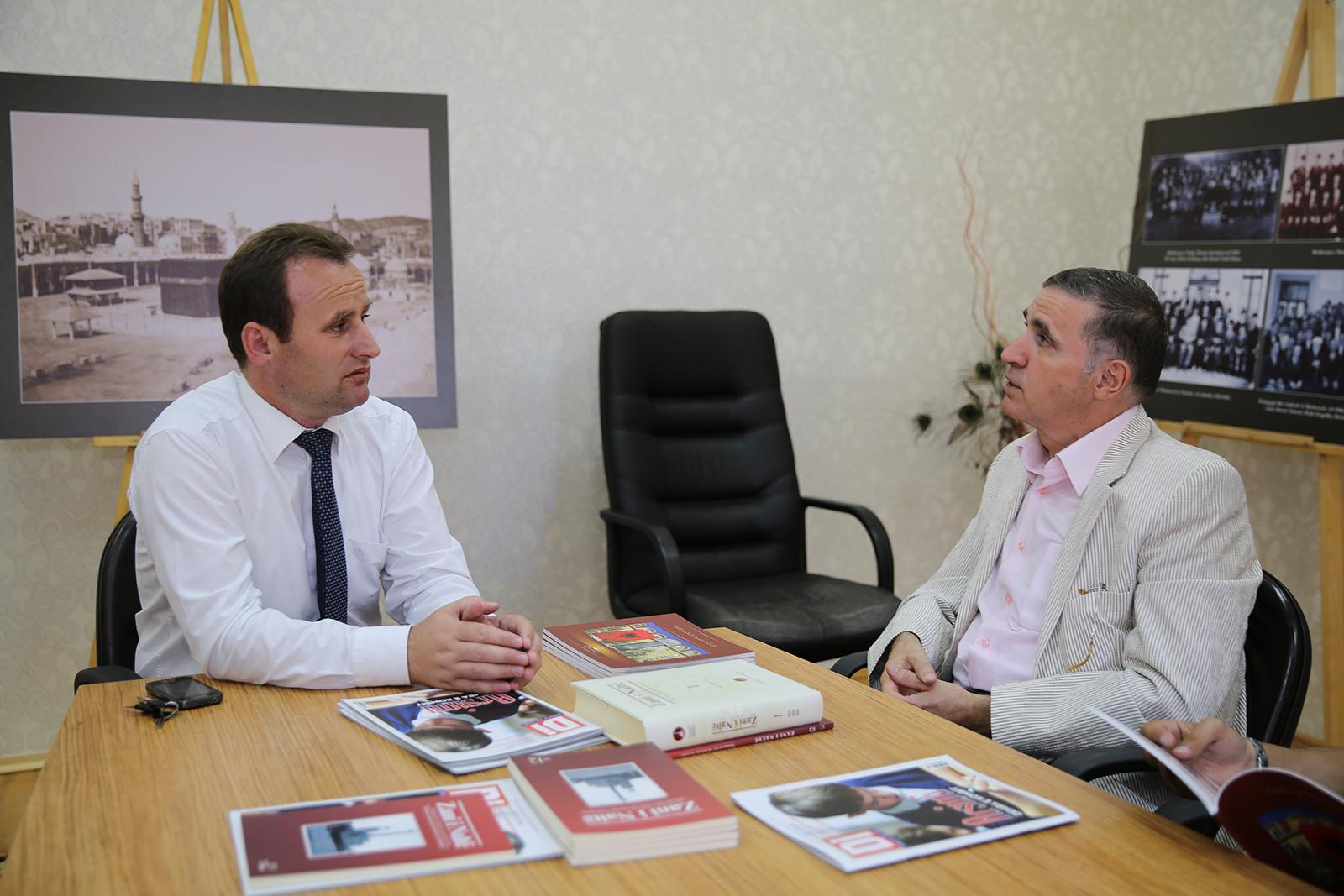Nënkryetari Spahiu pret ambasadorin e Kosovës në Egjipt