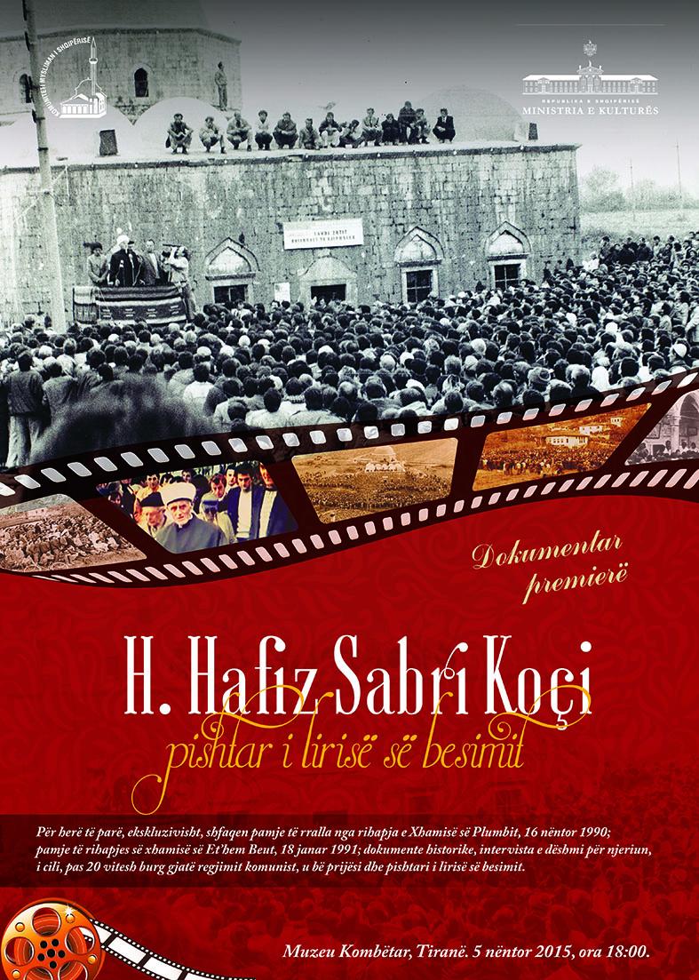 """Dokumentar premierë: """"H. Hafiz Sabri Koçi, pishtar i lirisë së besimit"""""""