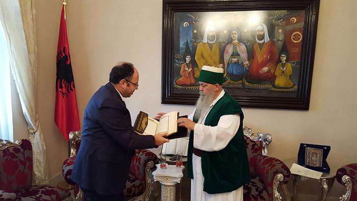 KMSH dhuron 125 tituj librash islamë Kryegjyshatës Bektashiane