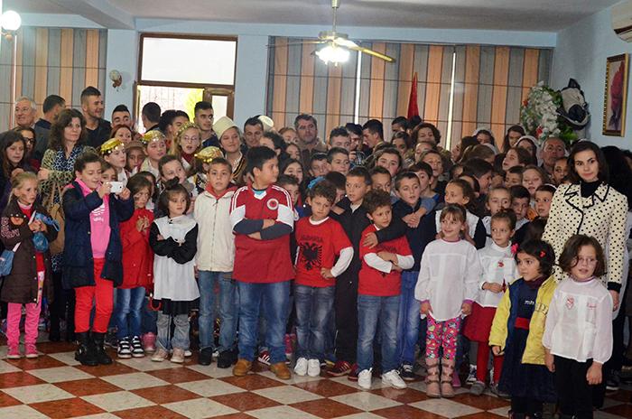 KMSH feston me nxënësit festat e nëntorit