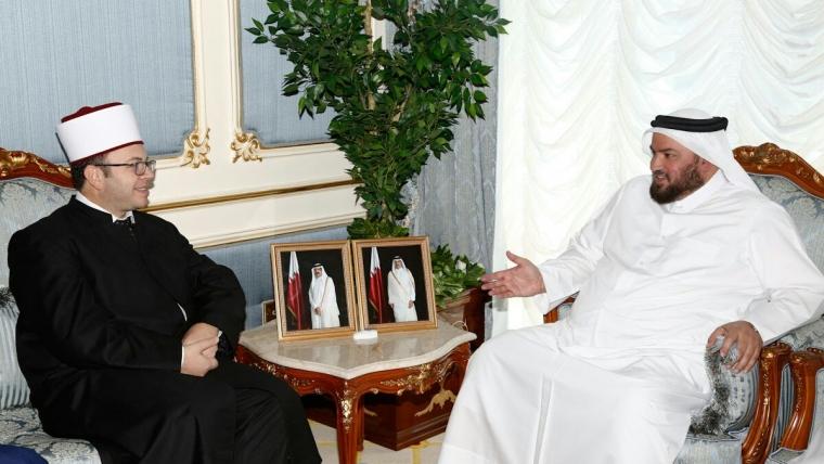 Kryetari i KMSH-së vizitë pune në Shtetin e Katarit