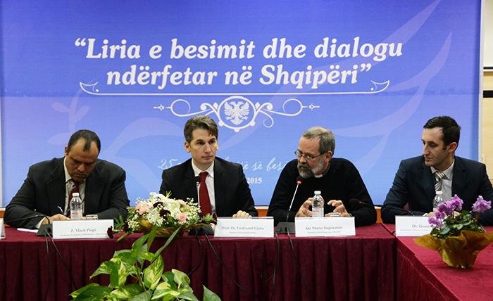 """Simpozium, """"Liria e besimit dhe dialogu ndërfetar në Shqipëri"""""""