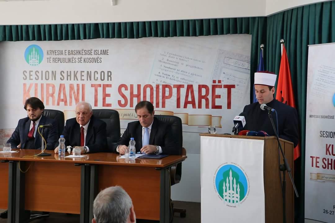 """KMSH merr pjesë në sesionin shkencor """"Kurani te shqiptarët"""""""