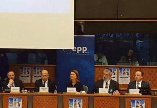 Nënkryetari Zaimi merr pjesë në konferencën e organizuar nga Parlamenti Europian mbi dialogun ndërfetar