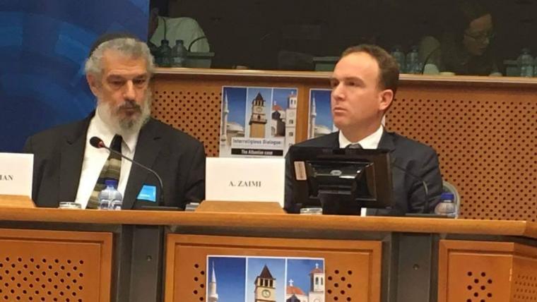 Fjala e nënkryetarit të KMSH, z. Ali Zaimi gjatë konferencës në Parlamentin Europian