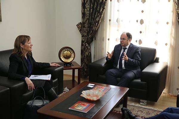 Bruçaj pret Kryetaren e Misionit të OSCE në Maqedoni