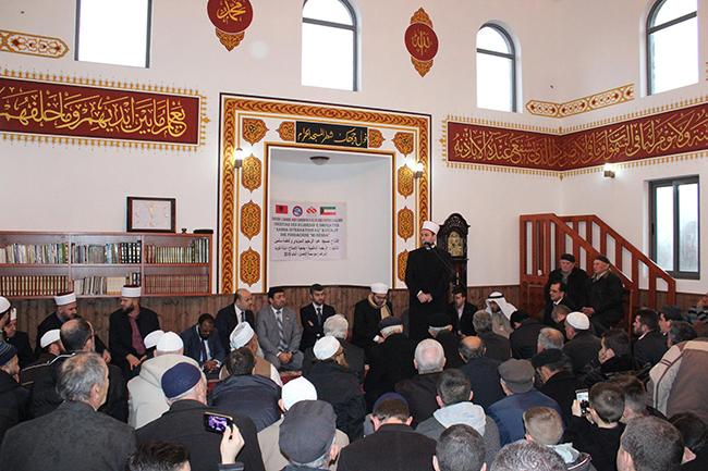 Inaugurohet xhamia e re në Mjedë të Shkodrës